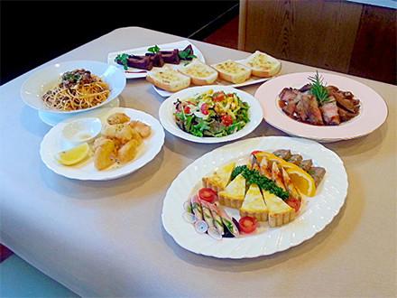 パーティーメニュー ¥3,500コースのお料理